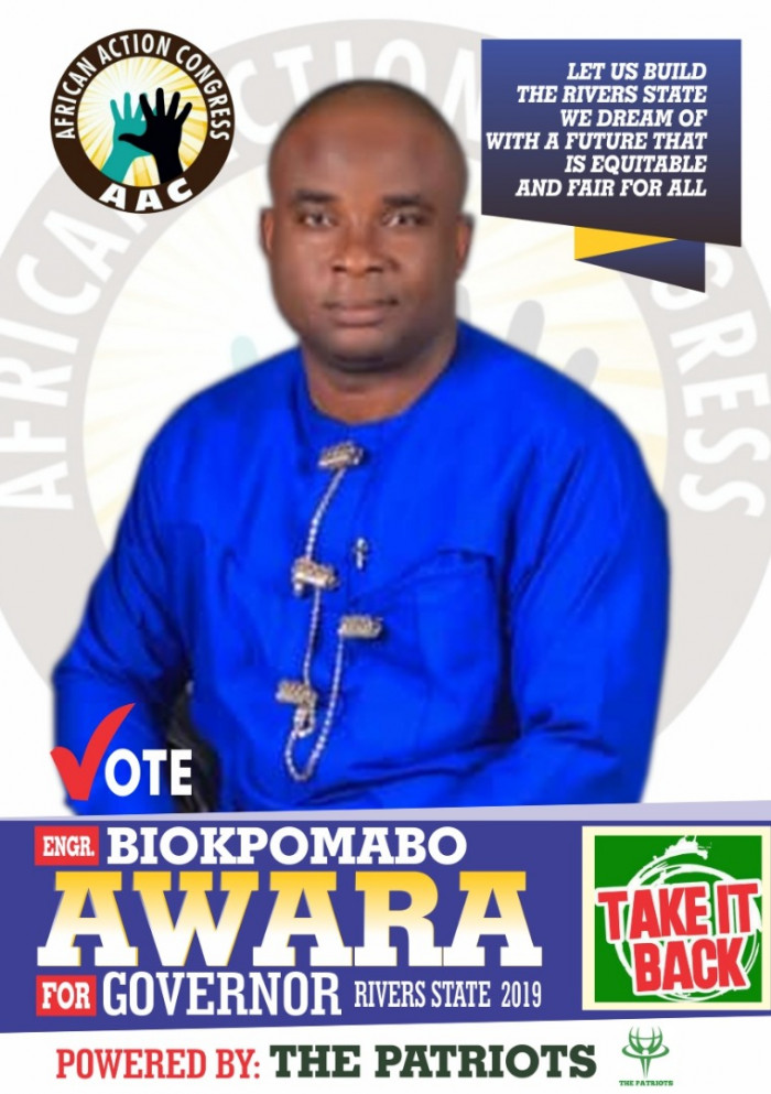 Rivers State AAC Governorship Candidate Support